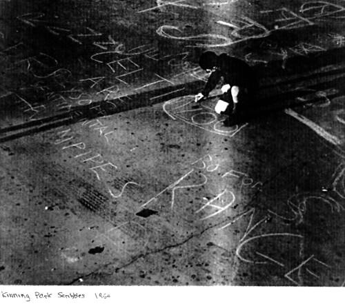 Kinning Park Scribbles, 1960.
