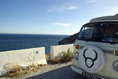 Castell de Ferro wildcamp 1 (joannehedger) Tags: sea beach vw coast spain campervan ldeferro joannehedger johedger httpjoannehedgerblogspotcouk