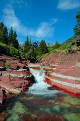 Red Rock Canyon (Phil's Pixels) Tags: canada alberta soe waterton iamcanadian platinumheartaward scenicsnotjustlandscapes natureandnothingelse flickrclassique nikonflickrawardgold