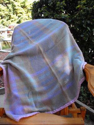 Woven blanket