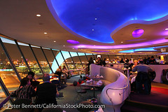 Encounter Restaurant, Los Angeles Airport, California (LA) (CitizenOfThePlanet) Tags: california ca travel usa moon architecture losangeles airport bars unitedstatesofamerica restaurants northamerica dining lax airports futuristic diners encounter cafes jetsons losangelescounty peterbennett ambientimages losangelesinternationalairpo