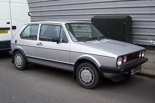 VW Golf Mk1 GTI Pirelli