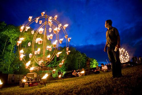 Paleo Festival @ Night
