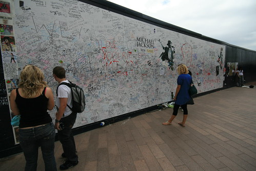 The Michael Jackson Wall