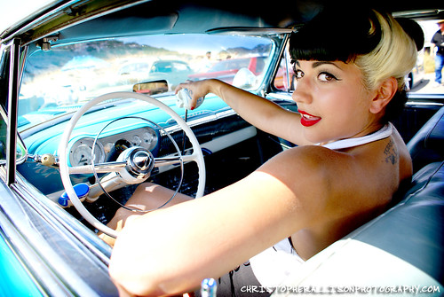 Erika - Texas Timebomb - King of Clubs Car Show by rockabillyboy72.