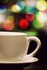 coffee break-eh (alvin lamucho ©) Tags: blue red orange green cup coffee yellow night colorful break nightlights bokeh coffeebreak saucer alvinlamucho