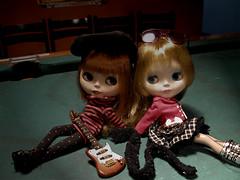 Maxine e Lou Lou Rockett - Rock'n'roll all nite!