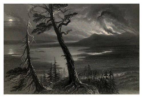 003- El lago de las cerillas cerca del rio Ottowa 1842