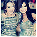 Miley Cyrus and Demi Lovato Hannah Montana The Movie Premier Icon