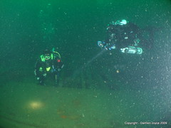 Michael and PJ on the Laurentic 2 (damoj5) Tags: inon fujif40 laurentic donegaldiving
