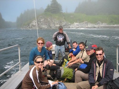 Our group on the boat
