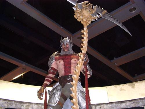 Dante's Inerno Statue