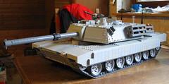 M1 Abrams 4 (stgeorg6) Tags: mbt rc panzer m1abrams ustank irakwar legotank