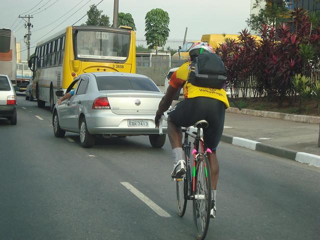 Bicicleta na pista