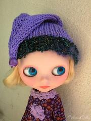purple pixie helmet