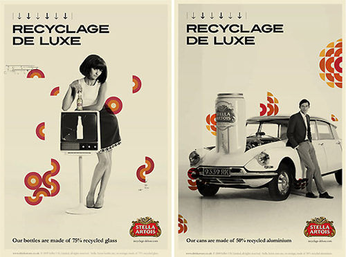 Stella Artois steals CBC logo for Recycled-de-luxe campaign