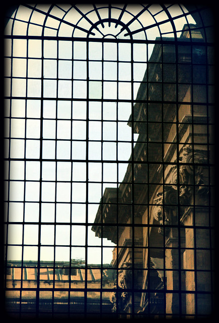 Through the window, The Painted Hall
