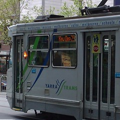 Tram 29 in Collins St