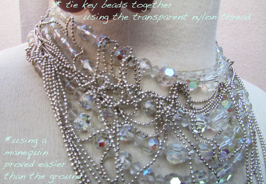 DIY-Tom-Binns-rhinestone-chains-pearl-chunky-choker-collar-necklace-4