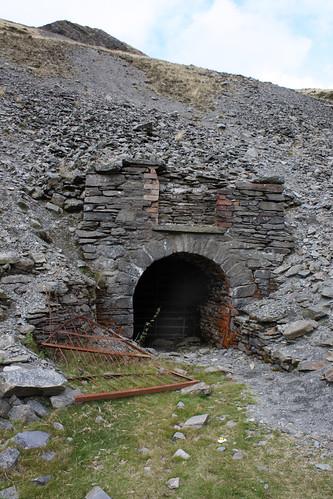 Cwmystwth mine entrance
