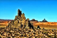 Church Rock, Arizona (dcheath8) Tags: arizona sky west color art nature beauty landscape effects scenery rocks scenic panasonic western bigsky navajo topaz scenicview fz28 topazadjust