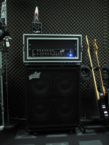 Aguilar Rig · Aguilar Tone Hammer