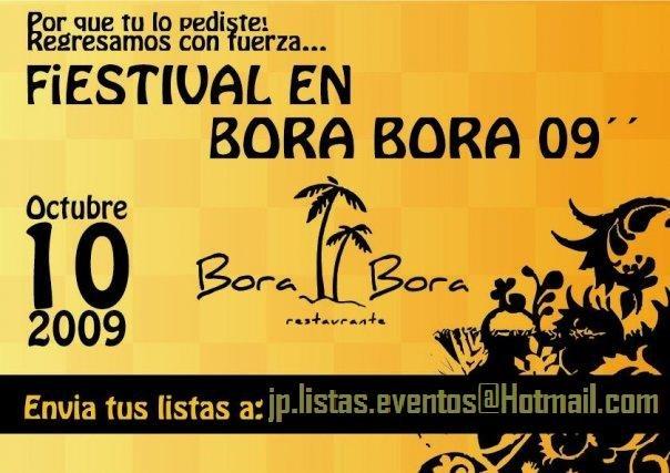 Fiestival 09 - Bora Bora