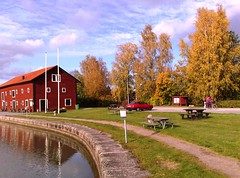 Fall at Göta Canal in Sweden #7