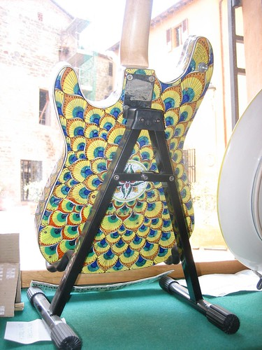 Deruta Ceramic Guitar_  018