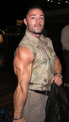 Freaky arm! (muscle[spell]bound) Tags: man training power masculine muscle hunk bodybuilding buff strong strength muscleman bodybuilder workout gym macho weight protein weights testosterone bicep steroids tricep culturismo testosteron musculos muskel testos muskelmann culturiste