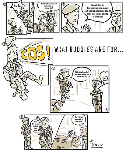 What Buddies are For...