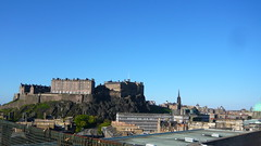 Edinburgh Castle from the Sky Bar