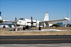 Lockheed P-2E Neptune (eugene.photo) Tags: california autumn usa us october places santaclara 2008 neptune p2 moffett montainview 128393 lockheedp2eneptune