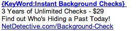 Background Checks - Ad #2