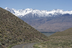 Southern Sierra Nevadas (Eric Hunt.) Tags: california snow mountains snowcapped owensvalley sierranevadamountains