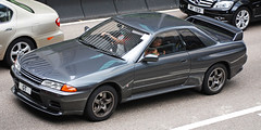 Nissan Skyline GT-R (Rupert Procter) Tags: auto hk car hongkong nikon ride awesome mobil coche motor  kereta  carspotting rwp rupertprocter d80 worldcars  chasingexotics    juanchai juanchaihk