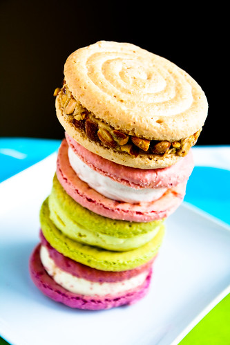 The Leaning Tower of Jeni's Macaroon Ice Cream Sandwiches