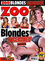 Zoo 10th march 2014 (bauermedianews) Tags: girls magazine zoo boobs blondes uncensored