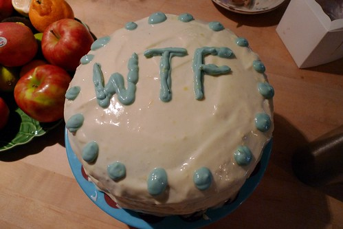 WTF cake (Photo: sanfranannie, flickr)