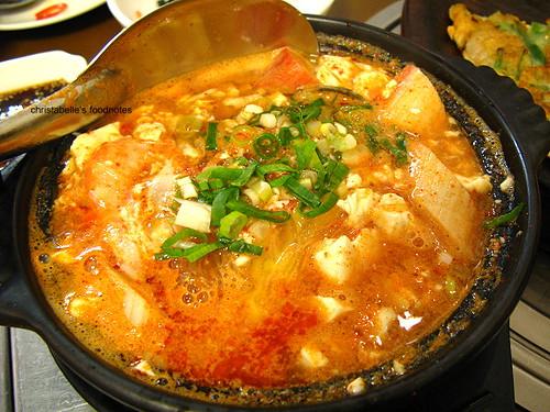 永康街韓鮮亭辣豆腐鍋