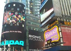 Times Square New York (ReservasdeCoches.com) Tags: new york city nyc newyorkcity usa ny newyork skyline architecture america photography photo yahoo arquitectura foto publicidad photos pics manhattan picture ciudad pic viajes fotos timessquare imagenes turismo nueva vacaciones nasdaq imagen estadosunidos nuevayork rotulos letrelos reservasdecochescom