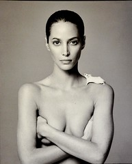 Christy Turlington by DeMarchelier (RobW_) Tags: paris france christy january patrick photographs palais friday 2009 petit turlington jan2009 02jan2009 demarchilier