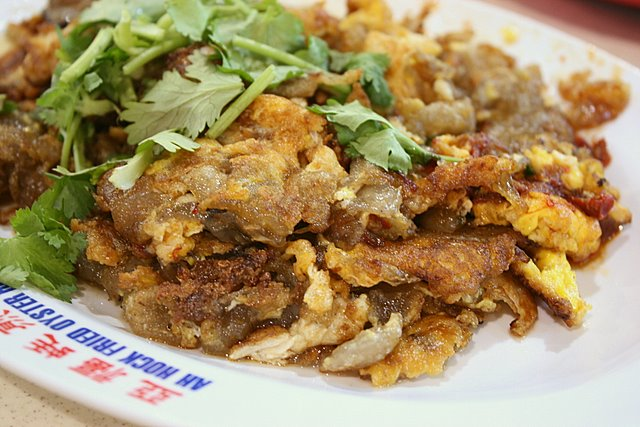 Ah Hock Fried Oyster at Whampoa Drive