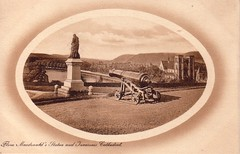 Flora MacDonald's Statue and Inverness Cathedral