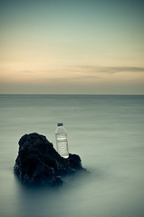 Water Crisis (Khaled A.K) Tags: seascape bottle sa jeddah saudiarabia khaled waterscape ksa drinkingwater saudia jiddah watercrisis kashkari