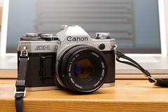 canon ae-1 (Shun C) Tags: film 35mm canon 50mm ae1 f18 18 ae fd
