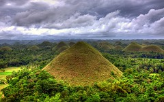 Chocolate Hills (Lemuel Montejo) Tags: mountain green nature colors landscape nikon philippines hills bohol carmen hdr chocolatehills d90 boholano emwing emwingmontejo lemuelmontejo