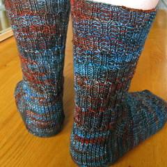 Lacunae Socks