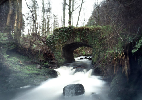 Glenburn bridge pinhole 30Jan09