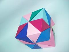 Miranda Cube (miranda1javier) Tags: color paper origami colorfull venezuela papel miranda papiroflexia